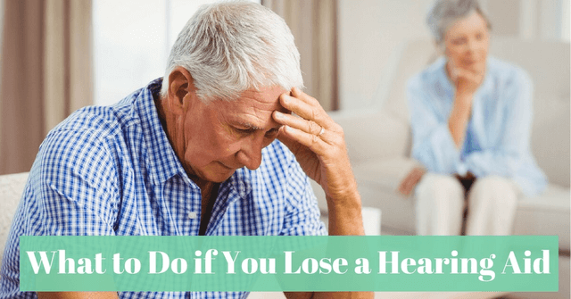 What to Do if You Lose a Hearing Aid