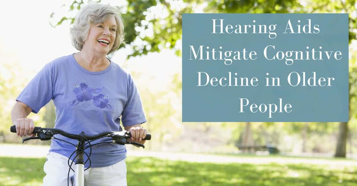 Gulf Gate Hearing Aid Center - Hearing Aids Mitigate Cognitive Decline in Older People
